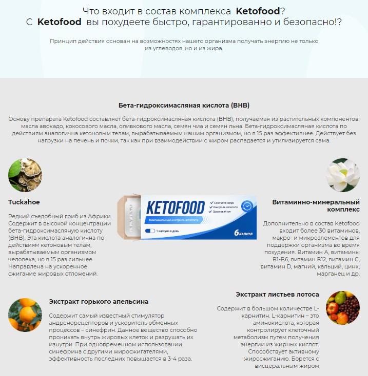 Кетофуд состав