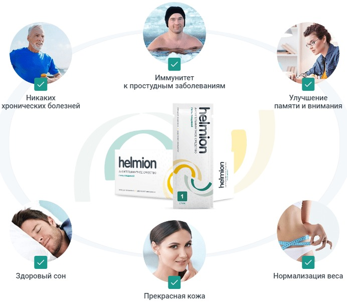 Helmion польза