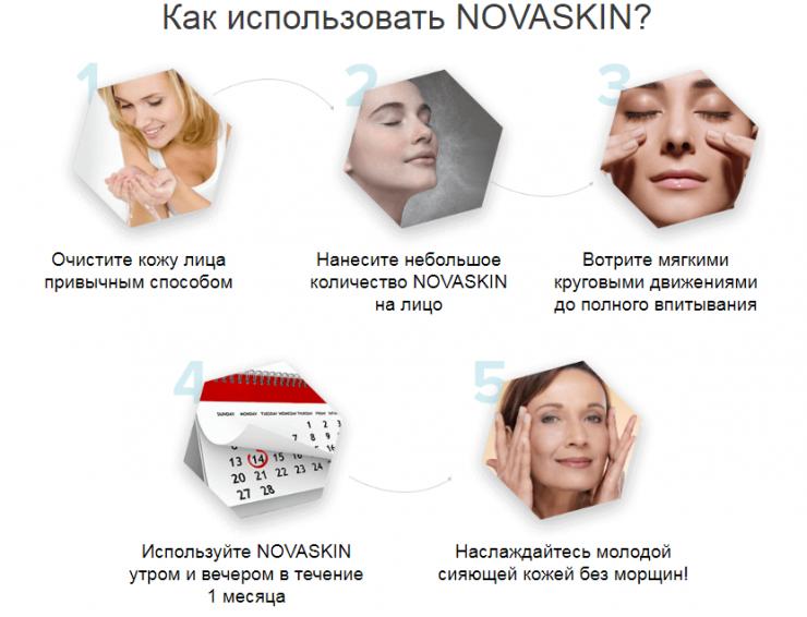 Применение Новаскин