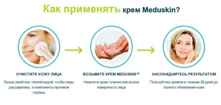 Meduskin применение