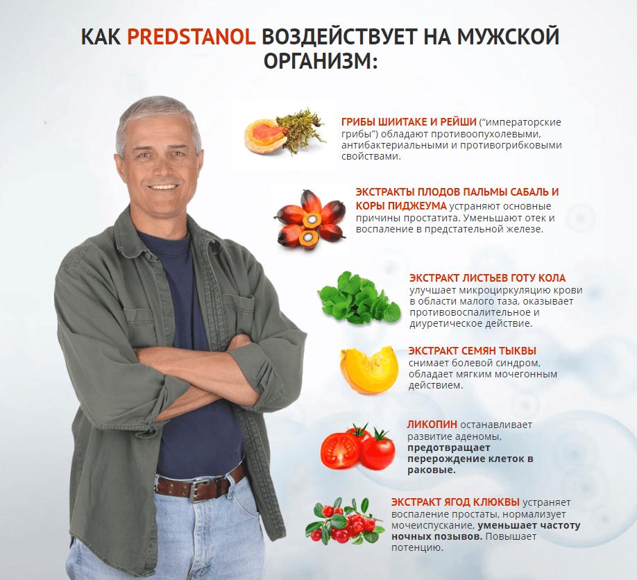 Состав Предстанола